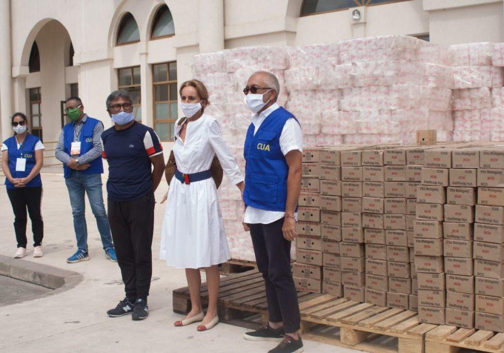 Opening of the Kintana Center in Antananarivo