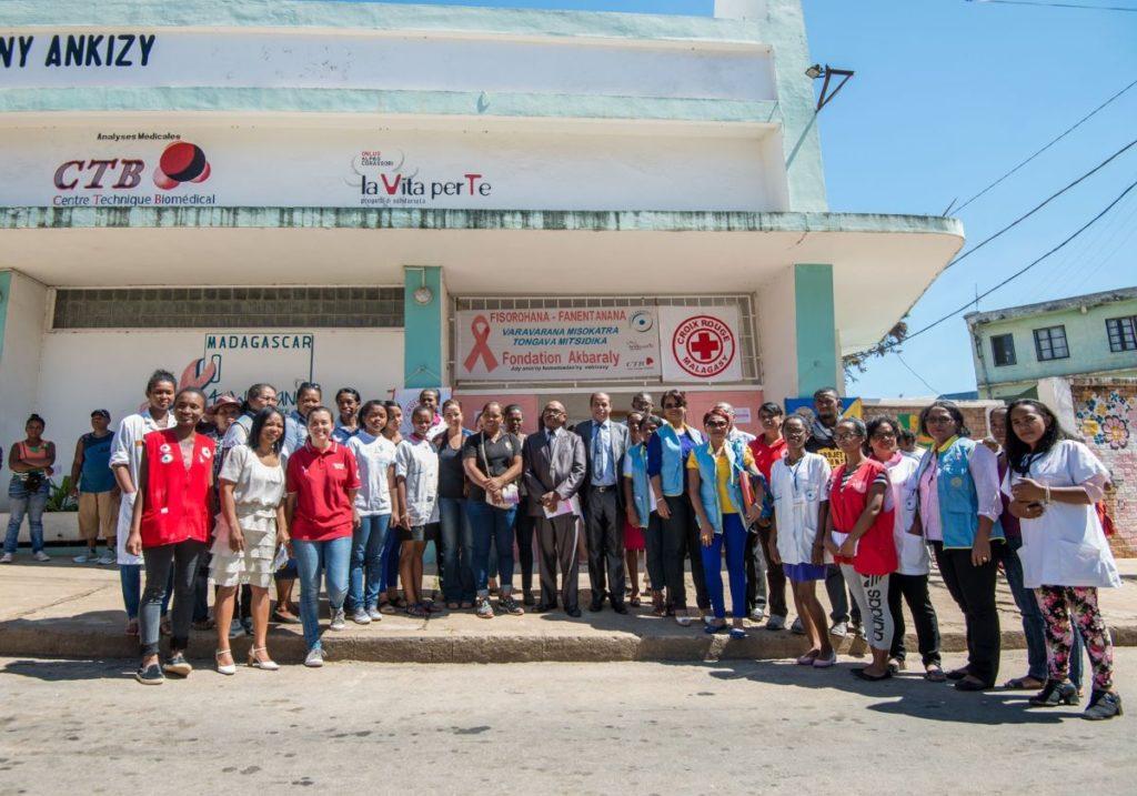 Inauguration of the Rex Center in Fianarantsoa